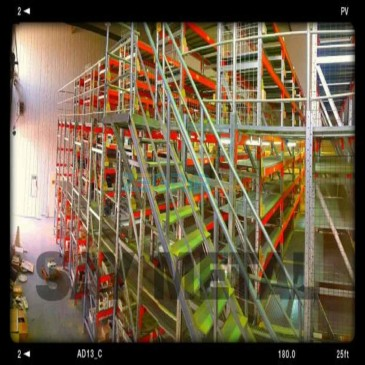 Mezzanine à 02 étages