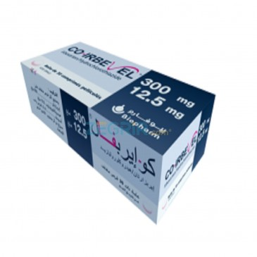 CO-IRBEVEL Comp Pell 300 mg  12,5 mg B30