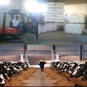 Aliment granulé pour bétail(ovin et bovin)