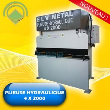 Plieuse Hydraulique 4 x 2000