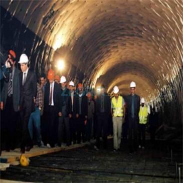 Tunnel Borj Moulay Omar, au Maroc